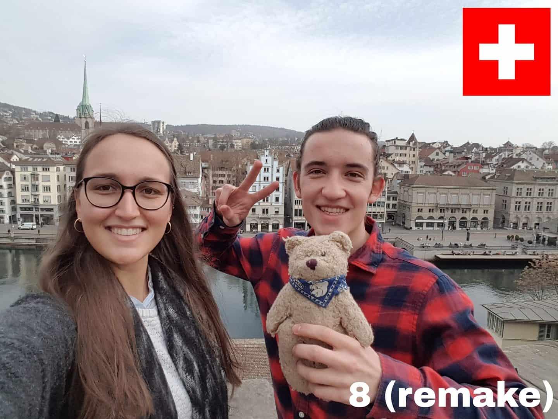 Weltreisebär Schweiz-Remake